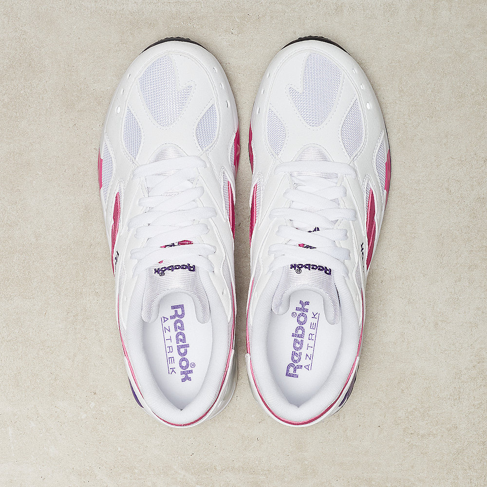 Reebok Aztrek white/bright rose/crushed cobalt/team purple/steel
