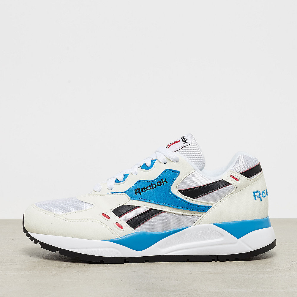 Reebok Bolton chalk/white/red rush/california blue/black