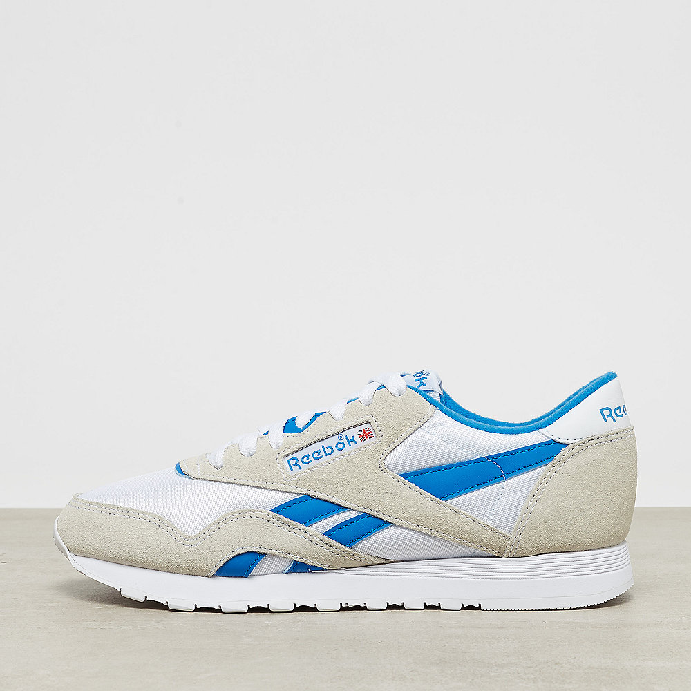 Reebok Classic Leather Nylon archive white/cycle blue