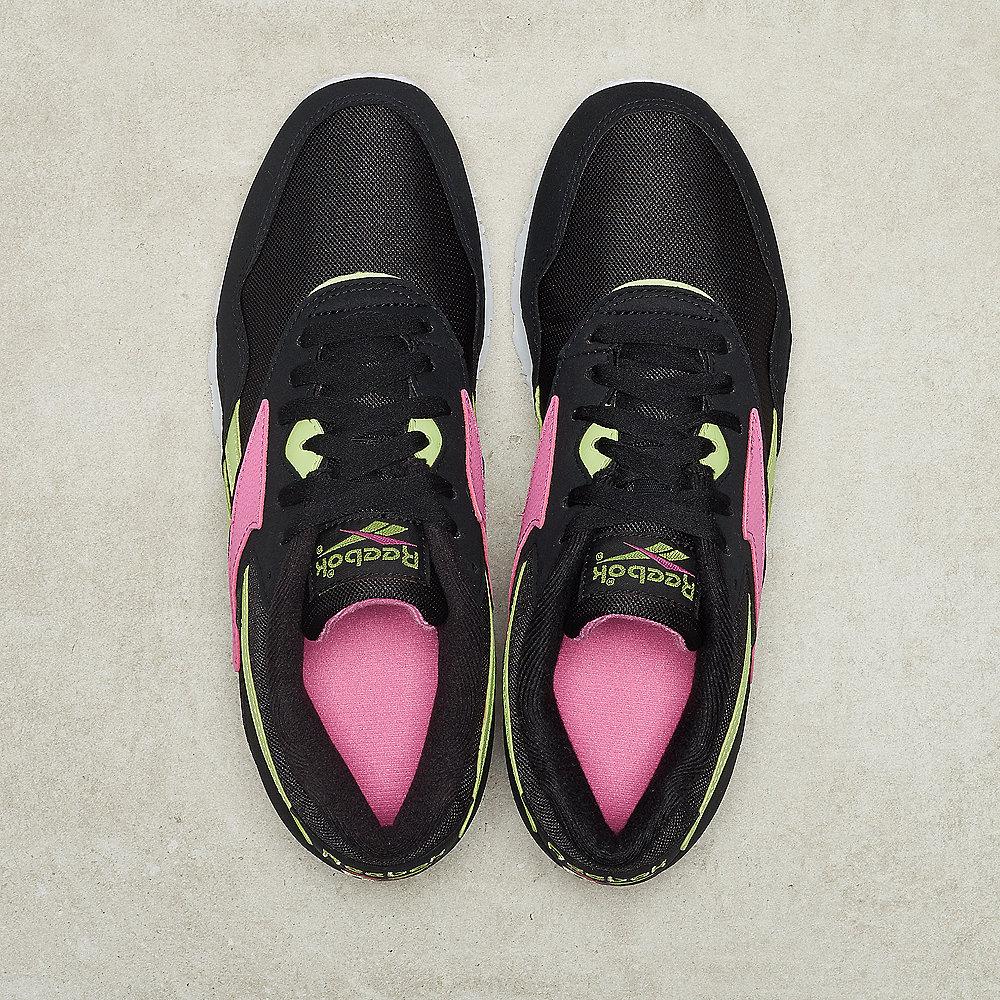 Reebok Rapide SYN black/white radical /pink/luminous lime