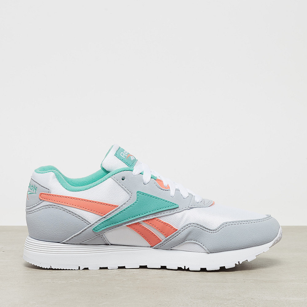 Reebok Rapide SYN white/cloud grey/emerald sea/steel pink