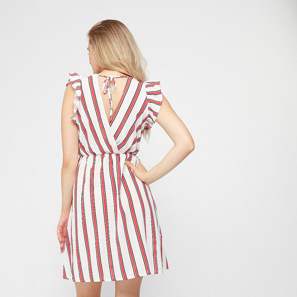 Effeny Kleid weiß/rot gestreift