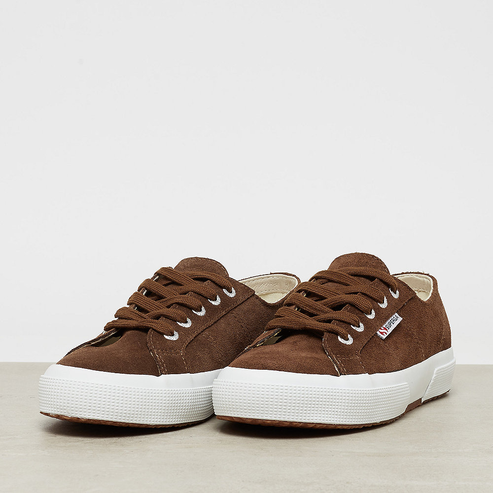 Superga 2750 - Suede brown coffee