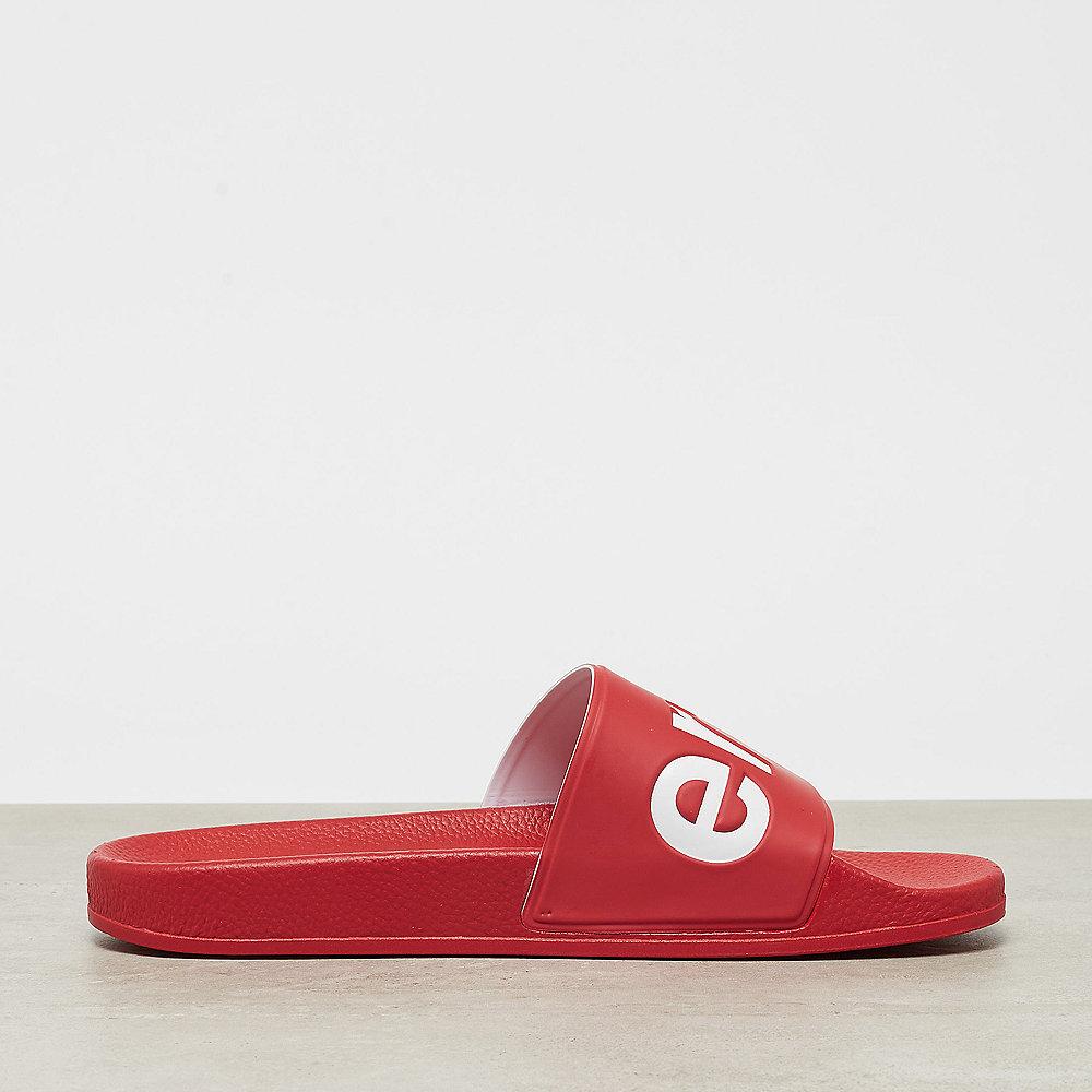 Superga Slides PVC red white