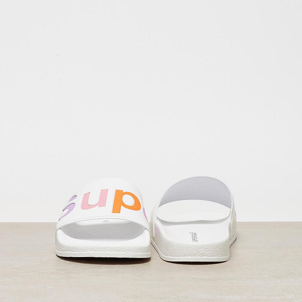 Superga Slides PVC white mutli