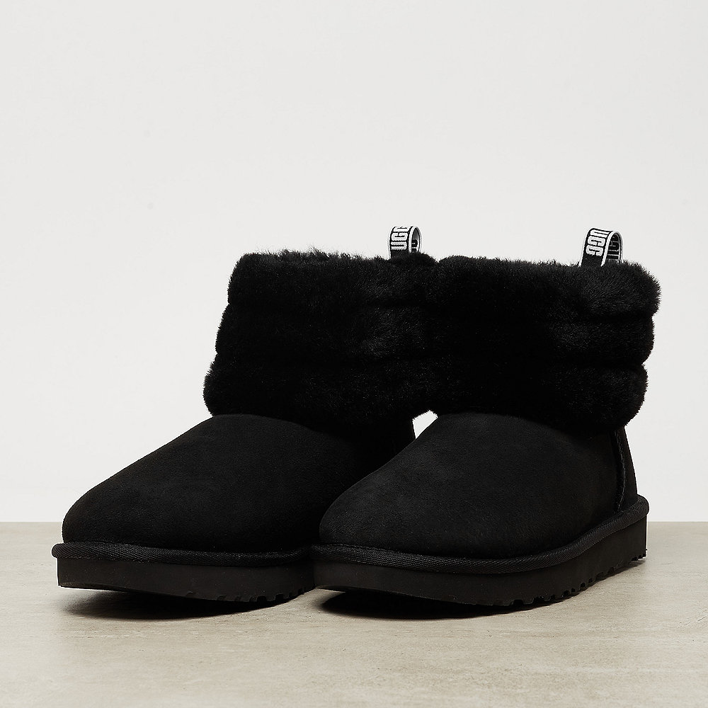 UGG Fluff Mini Quilted black