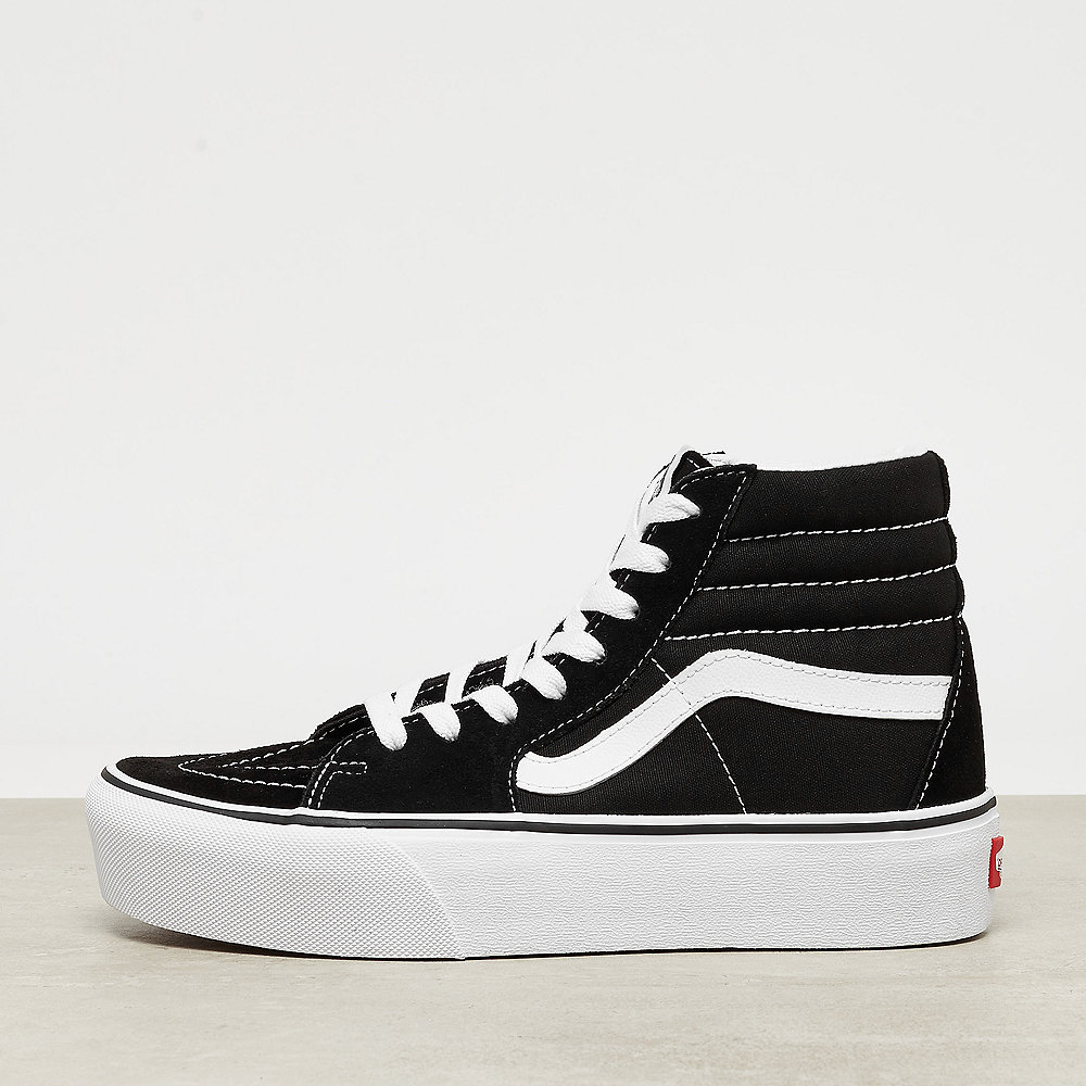 UA Sk8-Hi Platform black/true white