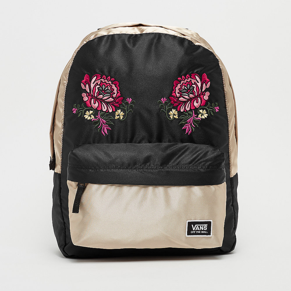 Vans Deana Festival Embroidery Backpack gold shine