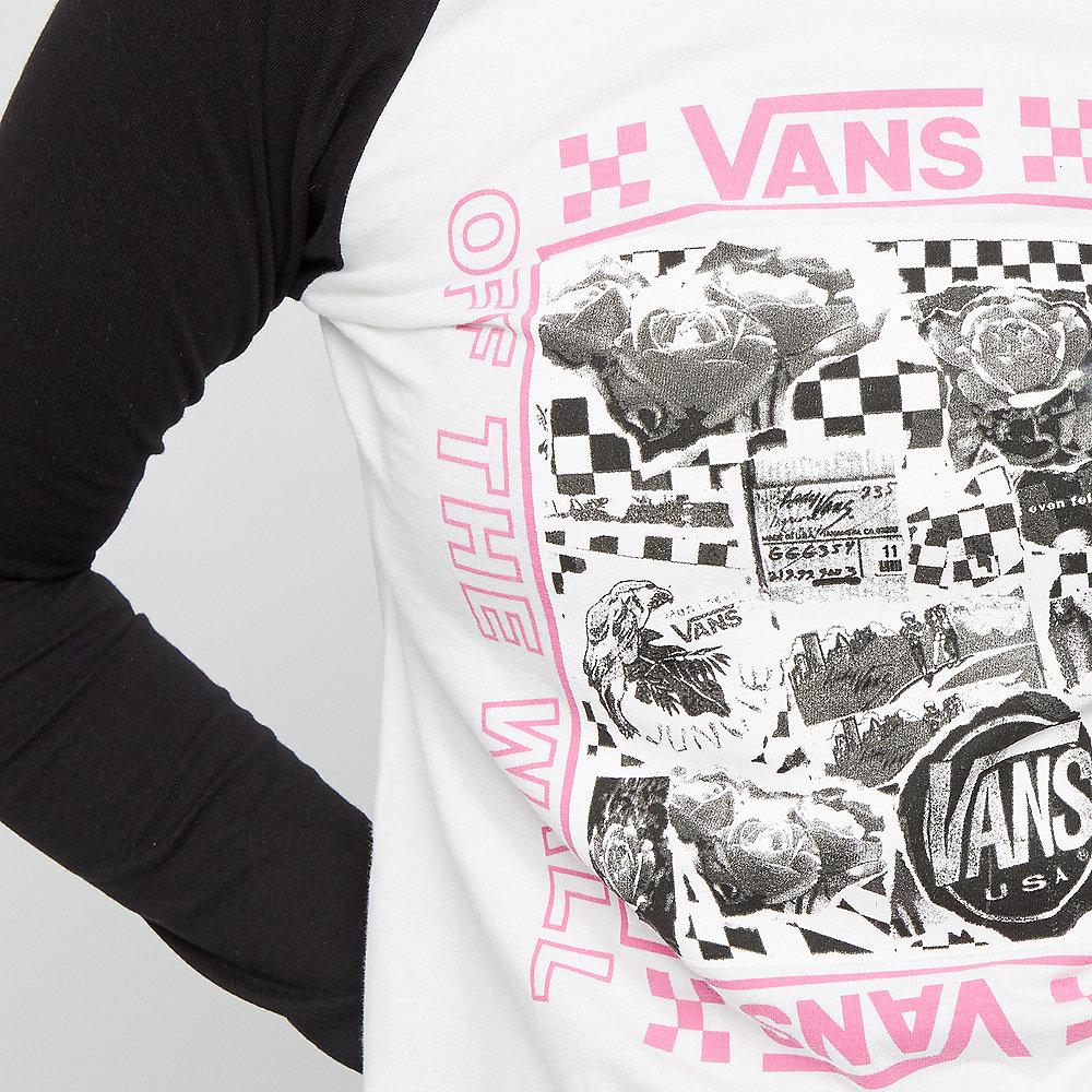 Vans Lady Vans Sting LS raglan diy white-black