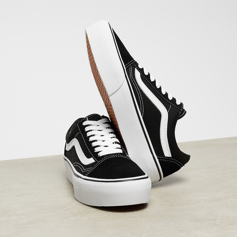 Vans Old Skool Platform black/white