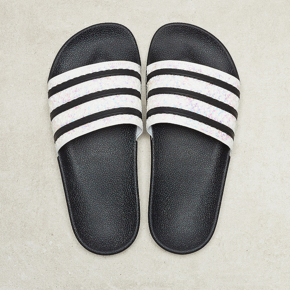 adidas Adilette W core black/core black/grey two17