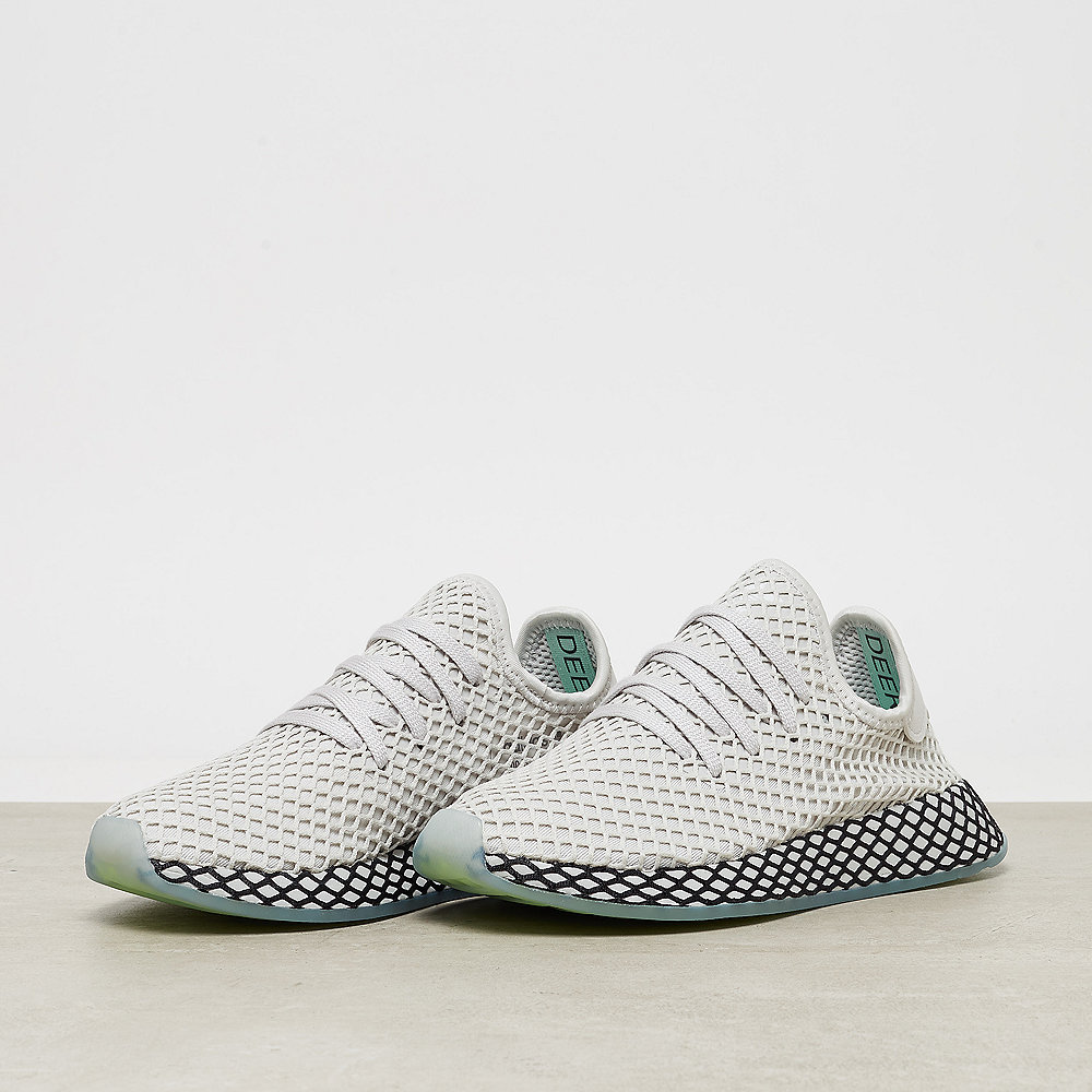 adidas Deerupt Runner grey one/grey one/clear mint
