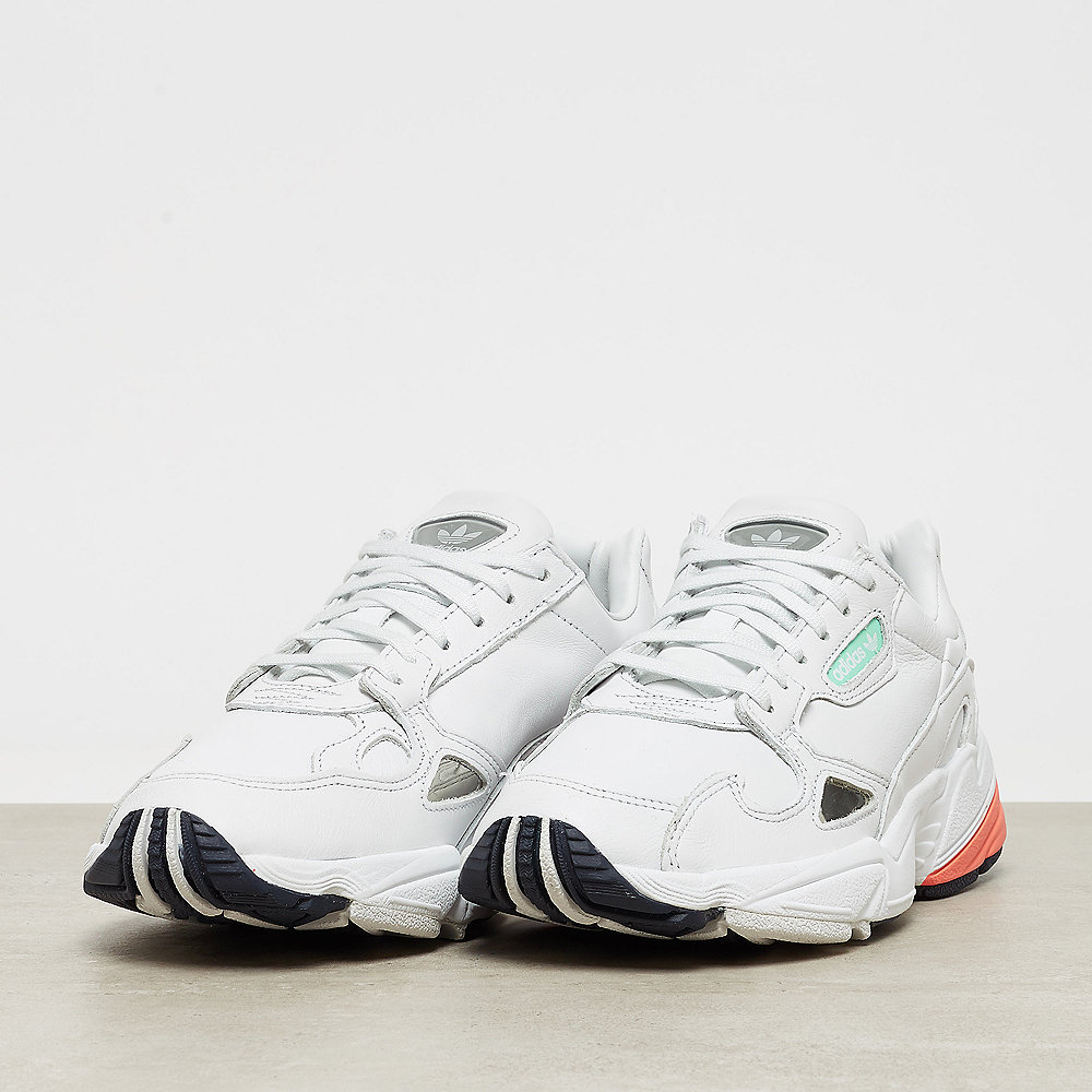 adidas Falcon W crystal white/crystal white/easy orange