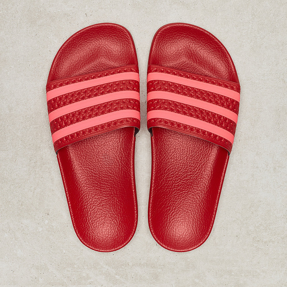 adidas Adilette W scarlet/flash red/scarlet