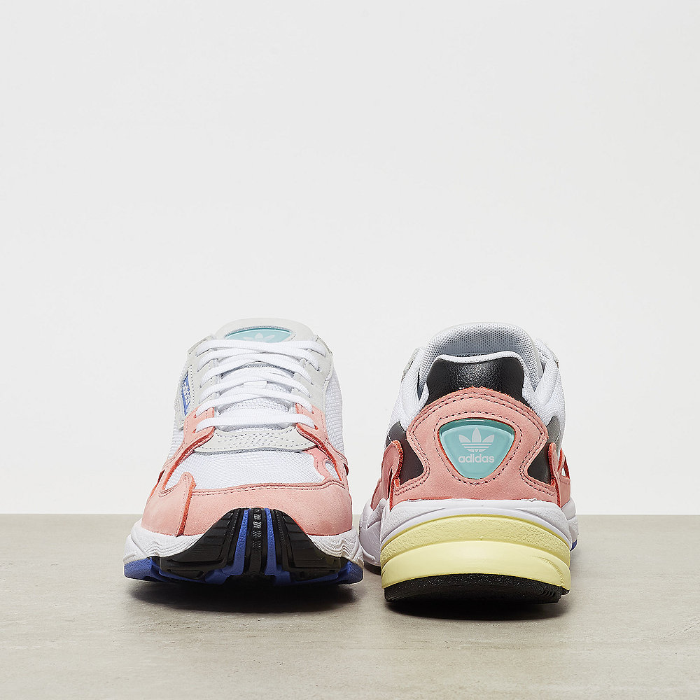 adidas Falcon  white/trace pink/black/real lilac/silver met/mint/ic
