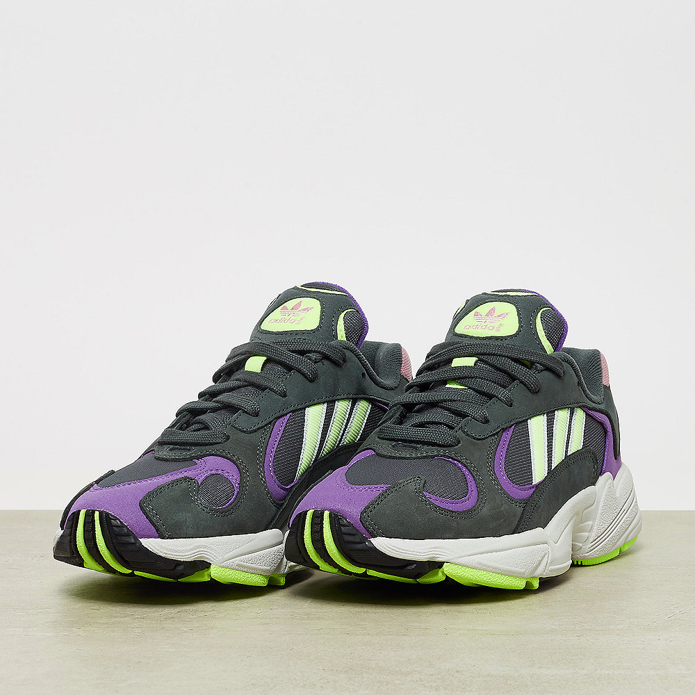adidas Yung-1 legend ivy/hi-res yellow/active purple