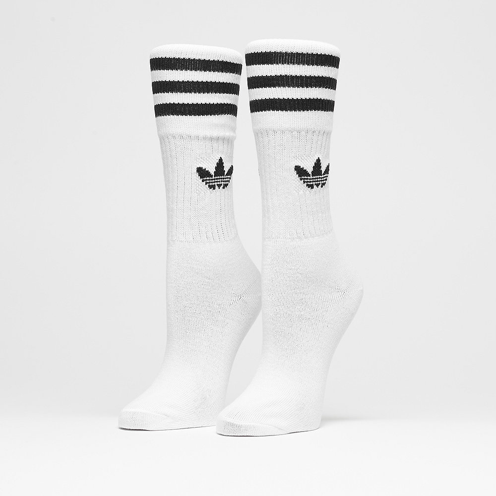 adidas Solid Crew 3PP white/black