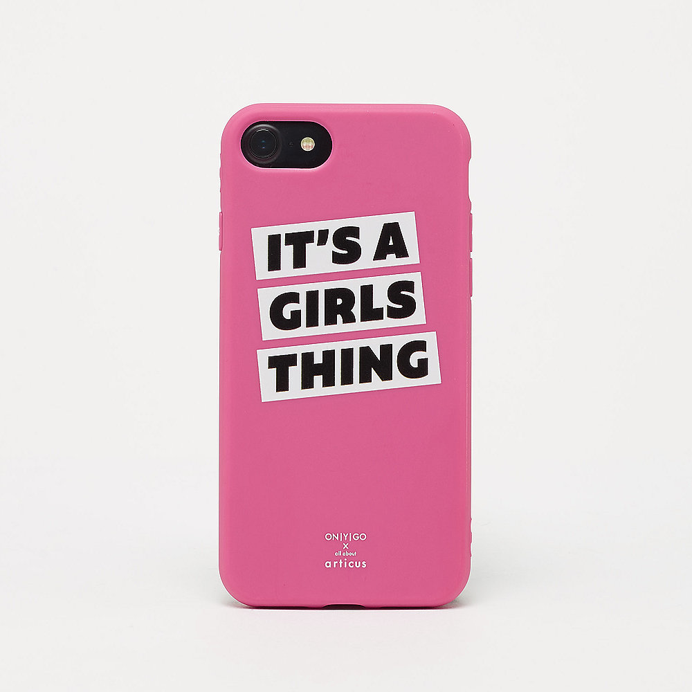 allaboutarticus IT'S A GIRLS THING pink iPhone Case
