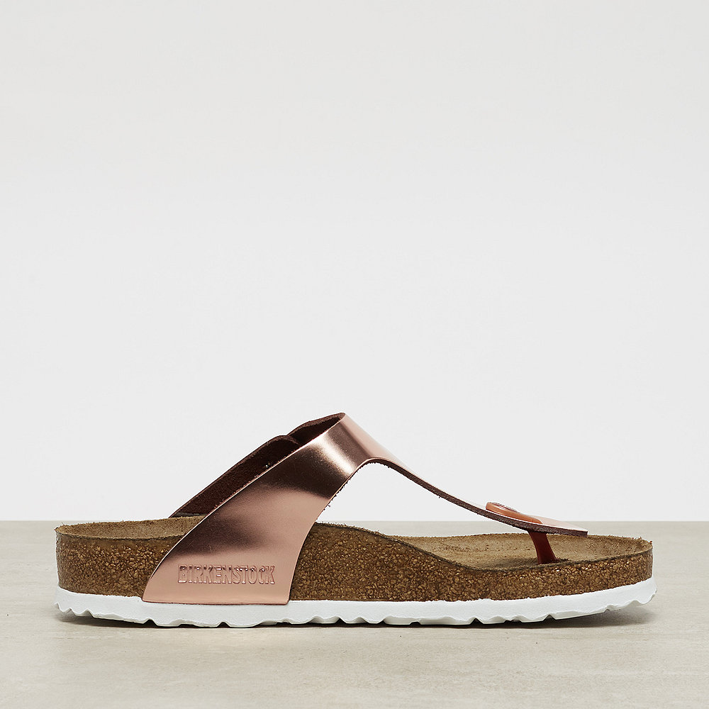 Birkenstock Gizeh SFB metallic copper