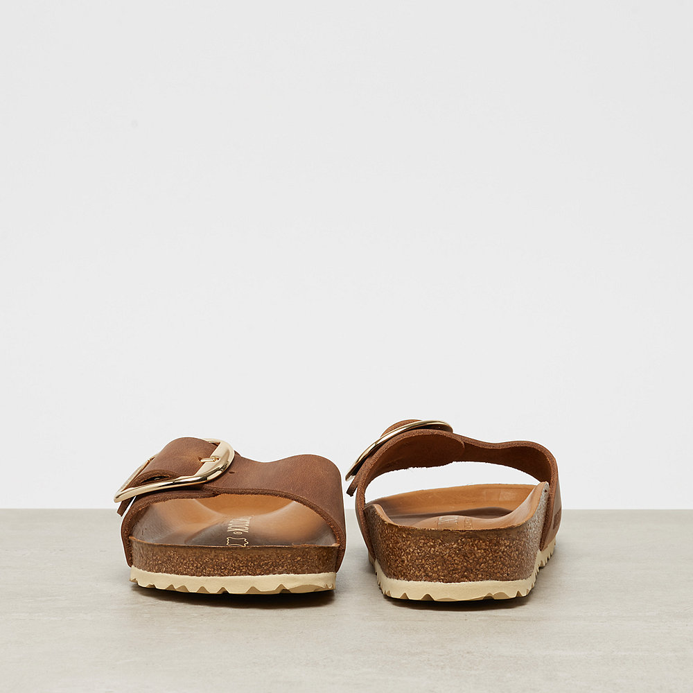Birkenstock Madrid Big Buckle Slim Fit cognac
