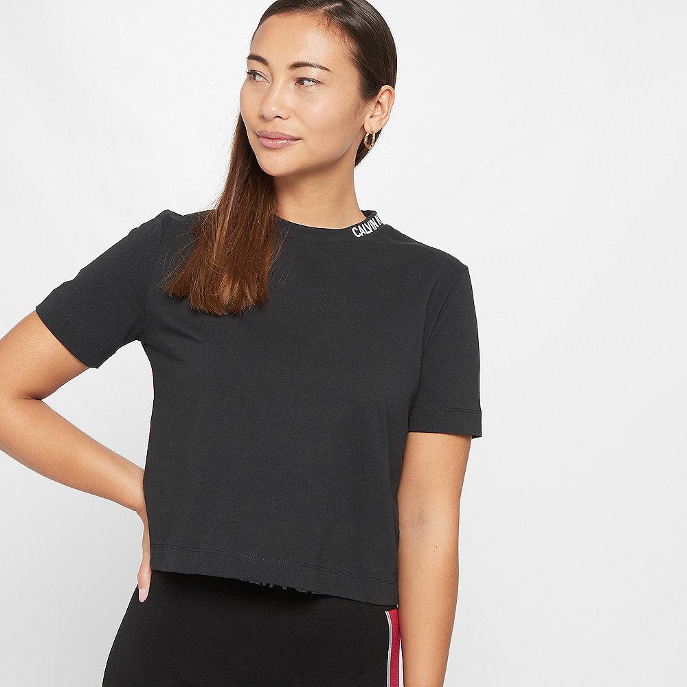 Calvin Klein Cropped Skater T-Shirt black