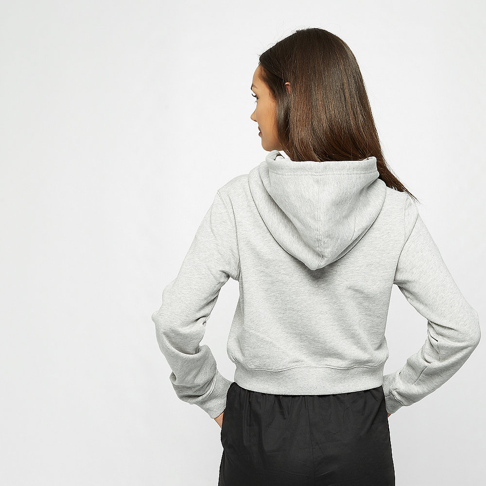 Calvin Klein Monogram Embroidery Hoodie light grey