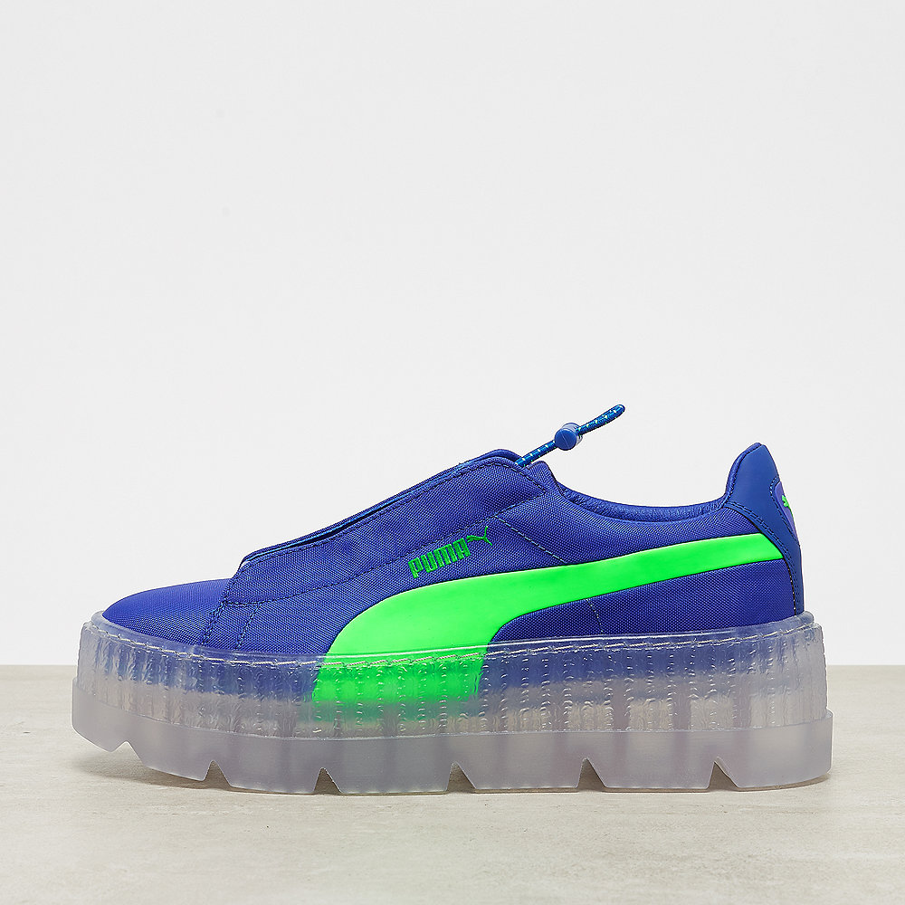check out 5a023 1074b Fenty x Puma Cleated Creeper Surf dazzling blue