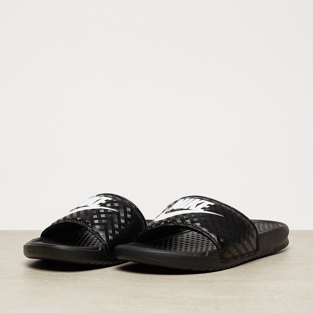 NIKE Benassi Just Do It black/white