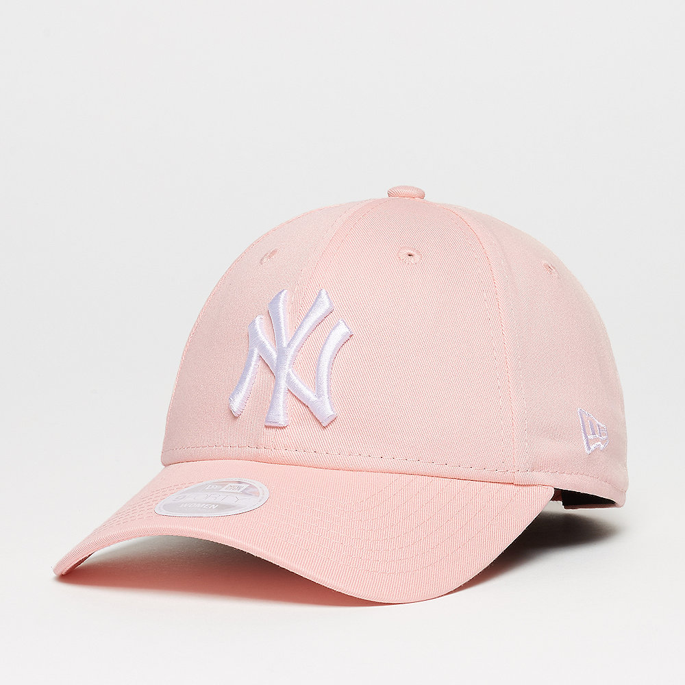 New Era 9FORTY NY Yankees League Essential pink lemonade