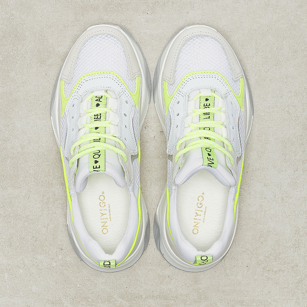 ONYGO Lulu light grey/neon green