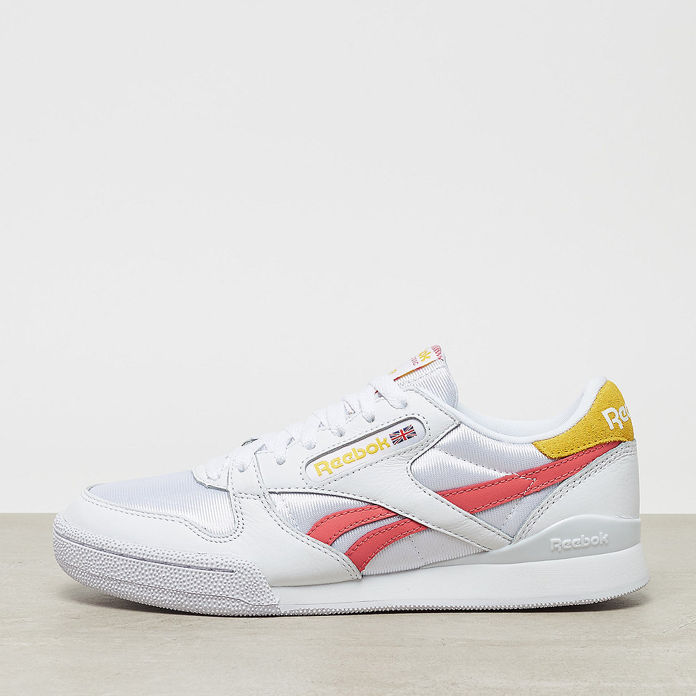 Reebok Phase 1 Pro Mu  wedge-white/urban yellow/bright rose