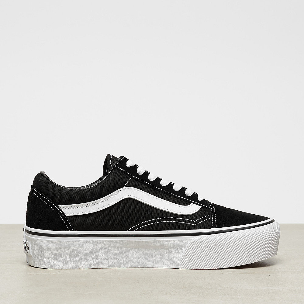 free shipping best shoes sells Old Skool Platform black/white