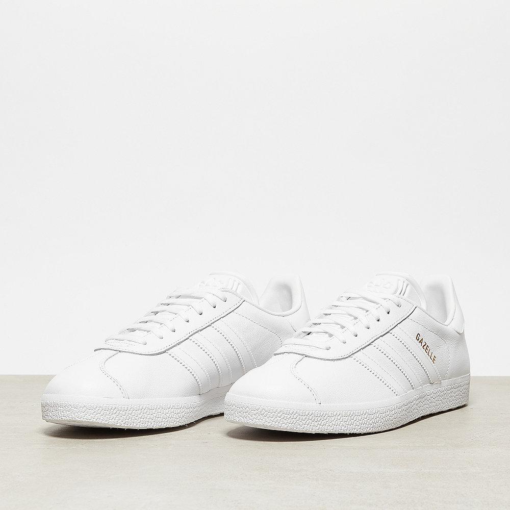 adidas Gazelle footwear white/footwear white/gold metallic