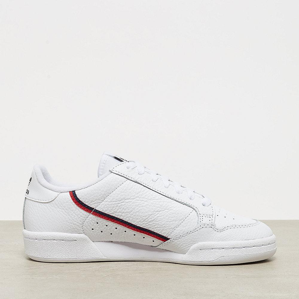 adidas Continental 80 ftwr white/scarlet/collegiate navy