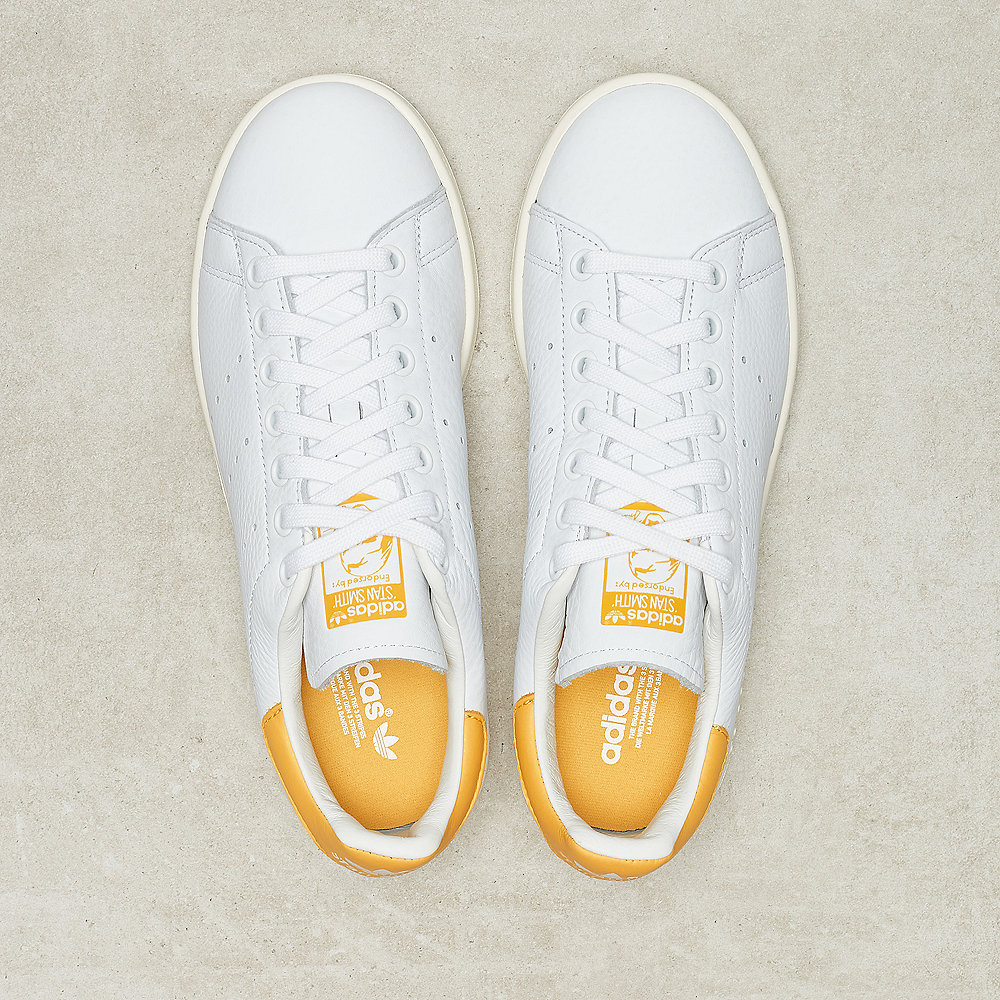 adidas Stan Smith Leatherftwr white/active gold/off white