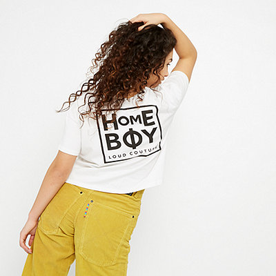 Homeboy Cate T-Shirt white