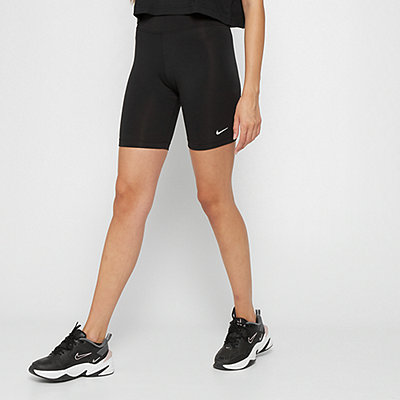 NIKE W NSW LEGASEE BIKE SHORT black/black/white