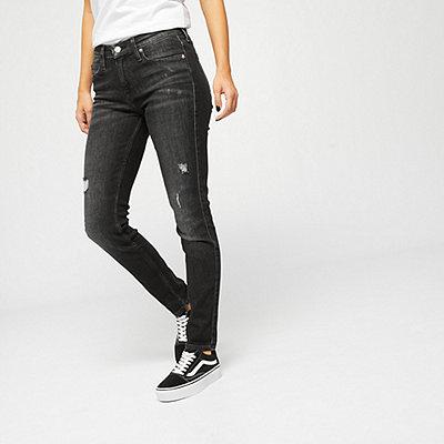Calvin Klein Mid Rise Skinny cowal black