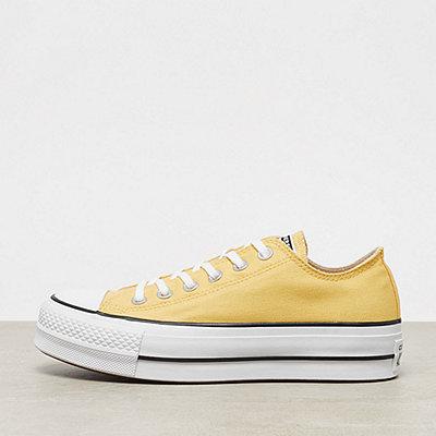 Converse Chuck Taylor All Star Lift OX butter butter yellow/black/white