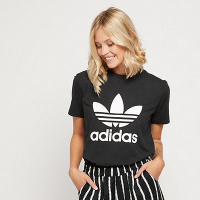 adidas Trefoil T-Shirt black/white