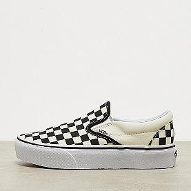 Vans UA Classic Slip-on Platform black and white checker