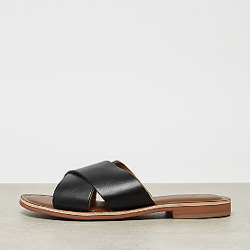ONYGO Cross Strap Flats black