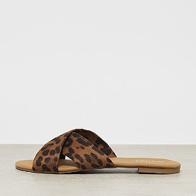ONYGO Cross Strap Flats dark leo