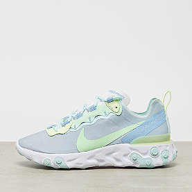 NIKE React Element 55 white/frosted spruce-barely volt