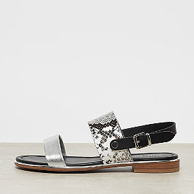 ONYGO Sandale silver/ snake