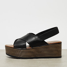 ONYGO Cross Strap Plateausandale black