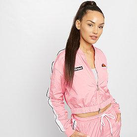 Ellesse Spitfire Crop Track Top pink