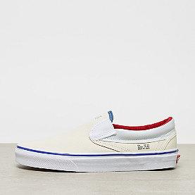Vans UA Classic Slip-On natural/stv navy/red