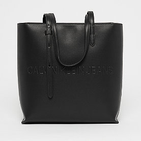 Calvin Klein Box Tote Zipper black