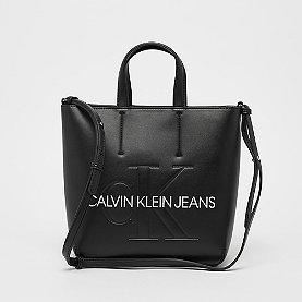 Calvin Klein Sculpted Monogram Mini Tote black